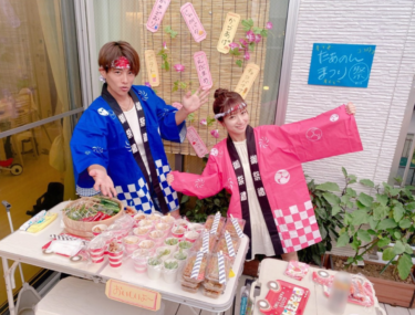 辻ちゃんファミリーもやってる♡「#おうち縁日」がめっちゃ楽しそう!!
